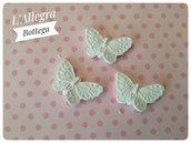 4 Gessetti a forma di farfalla