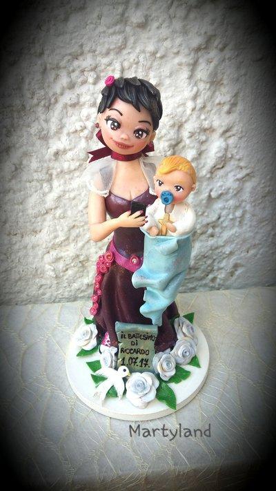 Cake topper personalizzato 1 soggetto