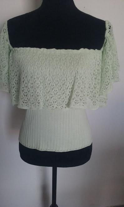 maglia donna cotone verde