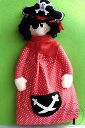Portapigiama pirata per bambino