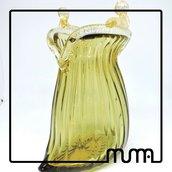 scultura in vetro di murano, idea regalo e utile per i nostri gioielli. Stupisci con eleganza.