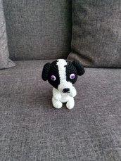 Cane amigurumi a maglia