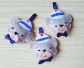 Bomboniera orsetto marinaio, orsetto marinaio, bomboniera nascita, bomboniera battesimo, bomboniera estiva, bomboniere animali