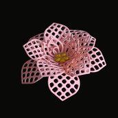 Fustelle in metallo disegno fiore