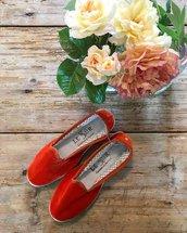 Scarpe o Pantofole in Velluto , Stoffa e Tessuto