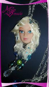 """Collana Barbie """"Mermaid"""" - dove gli occhi non arrivano regna la magia!"""