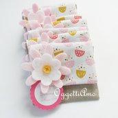 10 sacchetti per confetti per le bomboniere della tua bambina: per il suo battesimo, comunione,cresima una bomboniera personalizzabile per lei!
