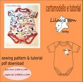 cartamodello body tg 1-3 mesi a 24 mesi pdf