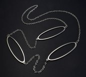 Collana separatori ovali