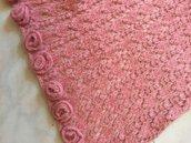Stola sciarpa lana raffinatissima da donna