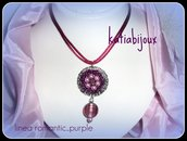 collana linea romantic...purple
