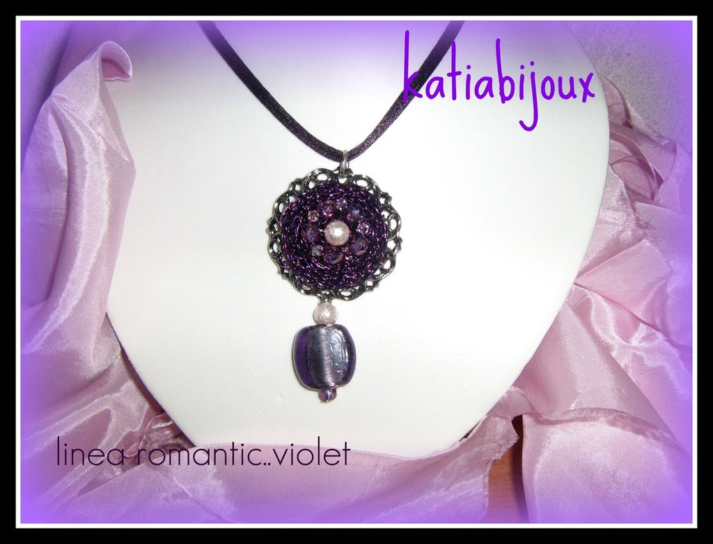 collana romantic...violet