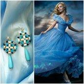Orecchini Cenerentola . Cinderella earrings