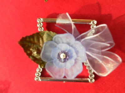 NOVITA'!!!Ferma foulard corolla di fiori