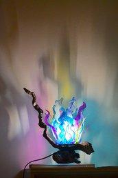 """Lampada da Tavolo : """"Luce del Mar dei Coralli"""""""