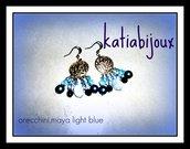 orecchini maya light