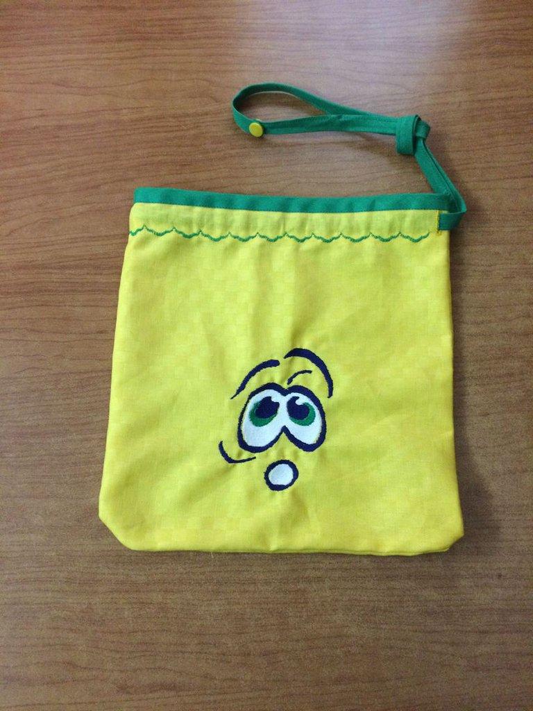 sacchetto scuola emoticon