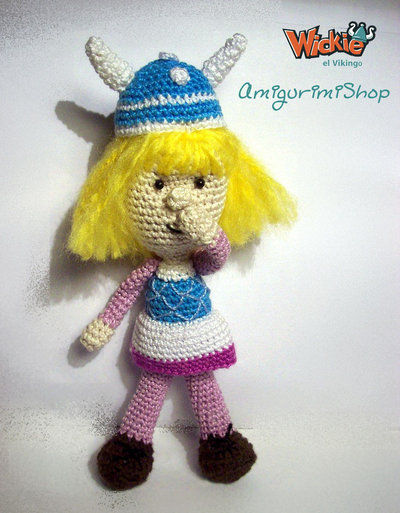 Vicky the Viking Pattern