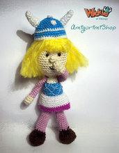 Vicky the Viking Pattern