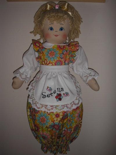 Bambola porta sacchetti personalizzata