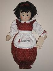 Bambola porta pigiama personalizzata
