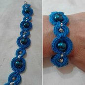 Bracciale Crochet Bluette