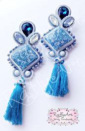 """Orecchini pendenti """"Azulejos"""""""