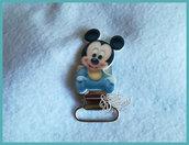 Clip per catenella porta ciuccio *Baby topolino*