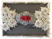 Quadro in rilievo con rose