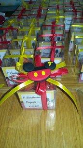 Bomboniere completa topolino in fino primo compleanno