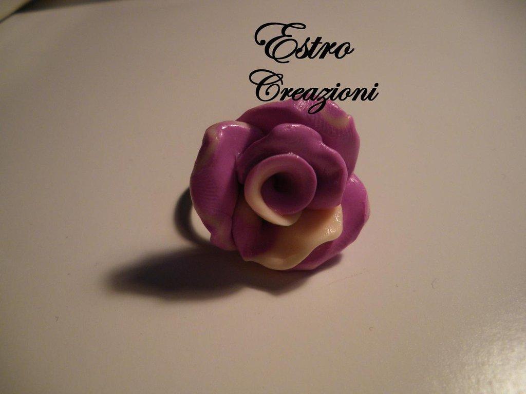 anello rosa sfumato
