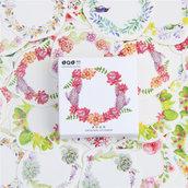Stickers coroncine di fiori