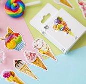 Stickers invitanti gelati