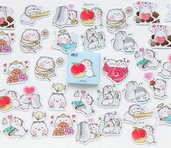 Stickers candy poetry baby