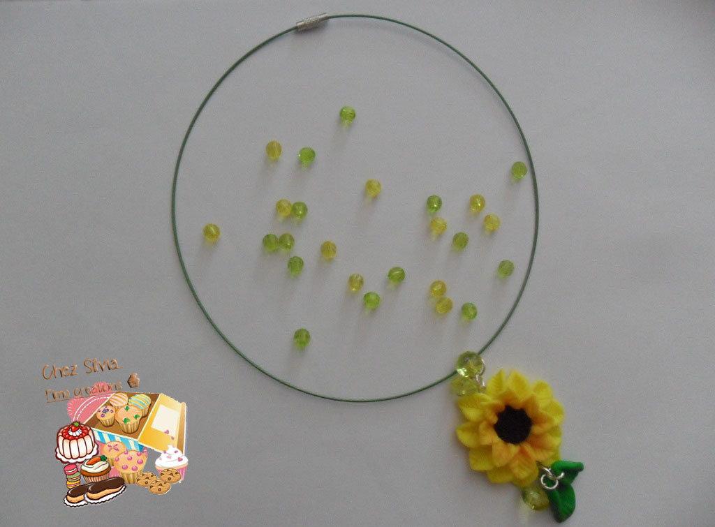 Collana Girasole fiore