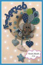 fiocco nascita elefantino sulla luna