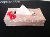 Porta Kleenex Copri Kleenex Copri Fazzoletti in stoffa fatto a Mano