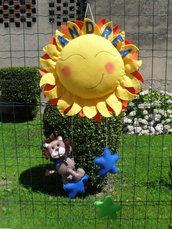 Fiocco nascita...un sole sorridente