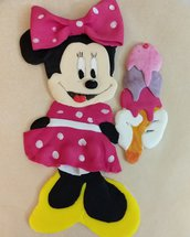 Cake topper Minnie 2d