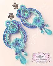 """Orecchini pendenti """"Bora Bora Blue"""""""