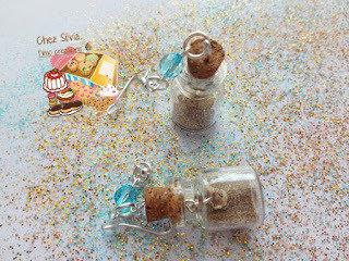Orecchini sabbia e conchigliette
