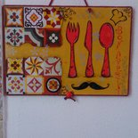 Decorazione da parete per cucina country-vintage