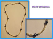 Collana perline e swarovski