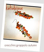 orecchini grappolo autumn
