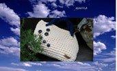 borsa in fettuccia cotone/lycra nuova fatta a mano crochet made in Italy