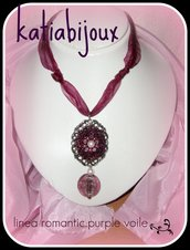 collana romantic..purple voile