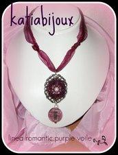 collana romantic..purple voile