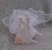 Bomboniera per matrimonio con sposi danzanti