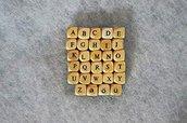 Lotto 10 lettere cubi Alfabeto portaciuccio F/G/H