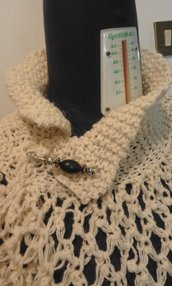 scialle sciarpa coprispalle maglia uncinetto